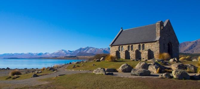 Lake Tekapo – Kleiner Ort im weiten Hochland